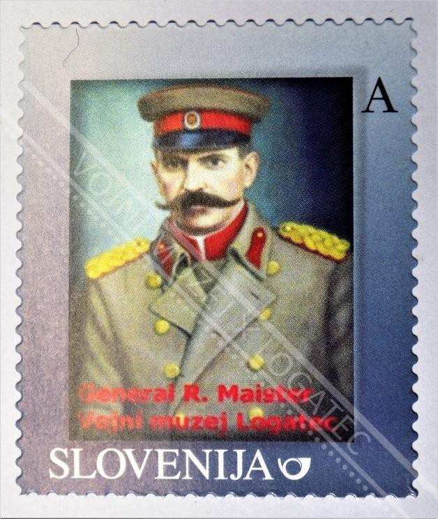 ZNAMKA - GENERAL RUDOLF MAISTER